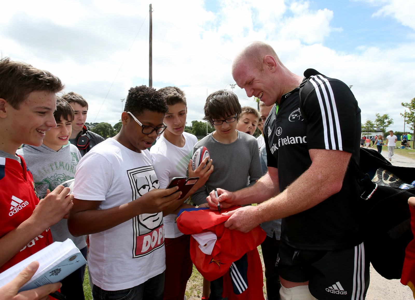 Anglais et Rugby avec le Munster Rugby Club