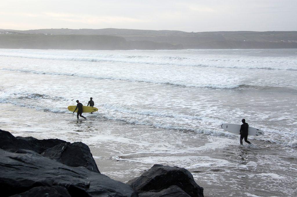Séjour linguistique d'anglais plus surf en Irlande