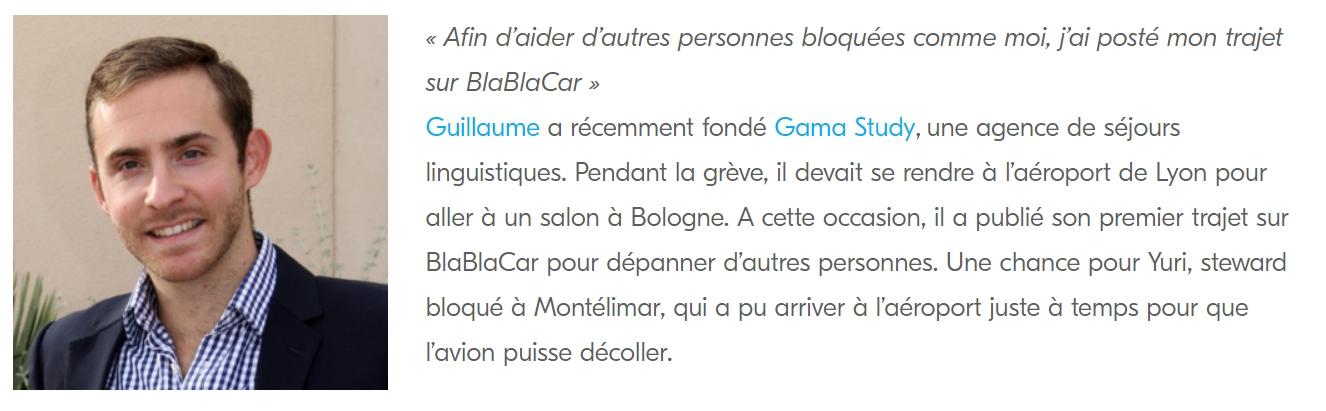 GAMA Study et BlaBlaCar
