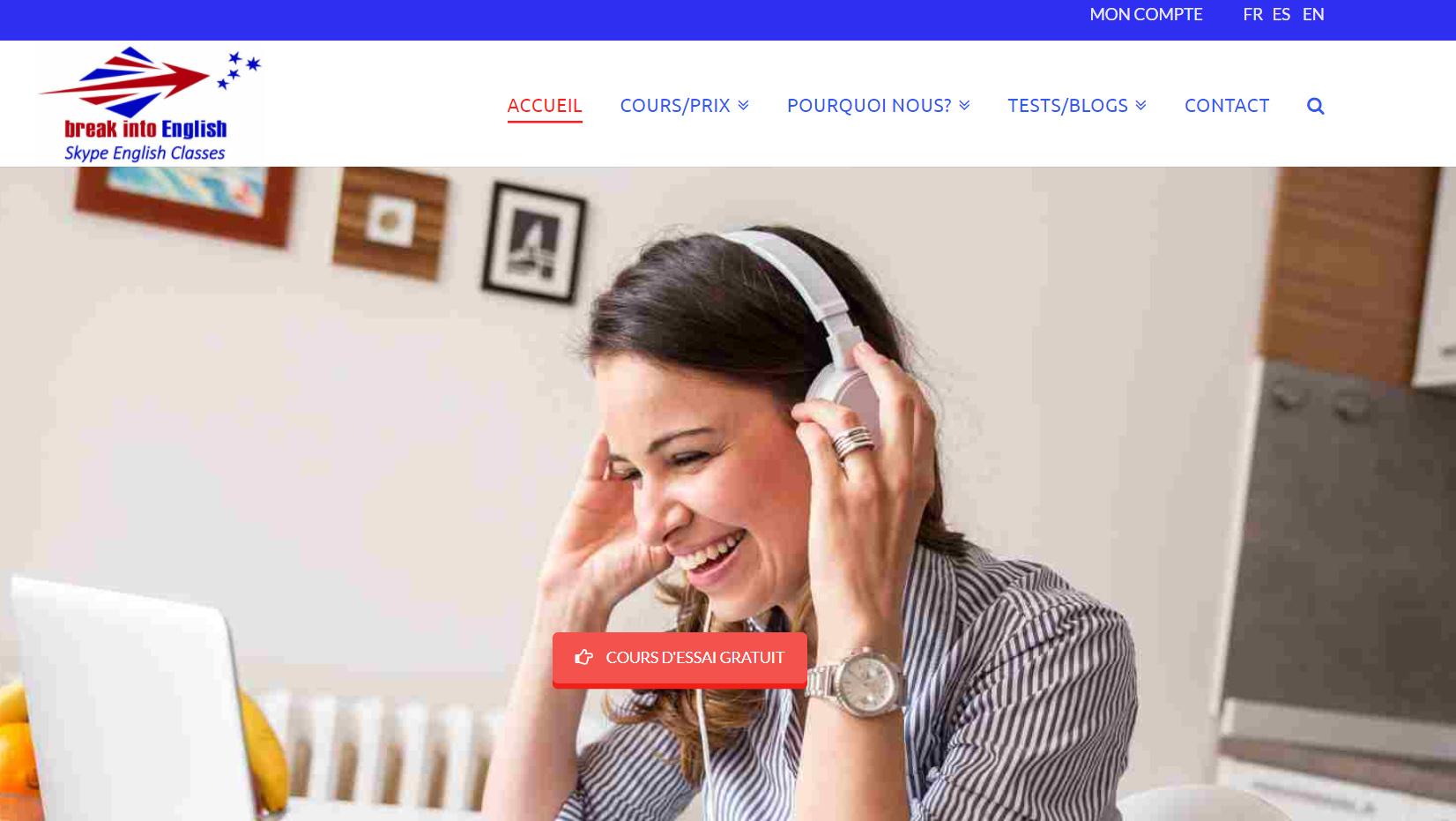 Apprendre l'anglais en ligne avec Skype