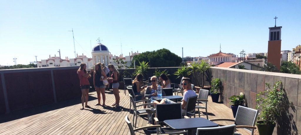 Ecole d'espganol à Cadiz