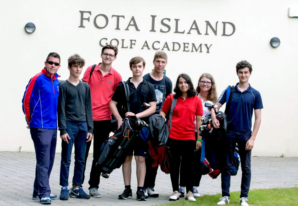 English and Golf programme in Ireland width=