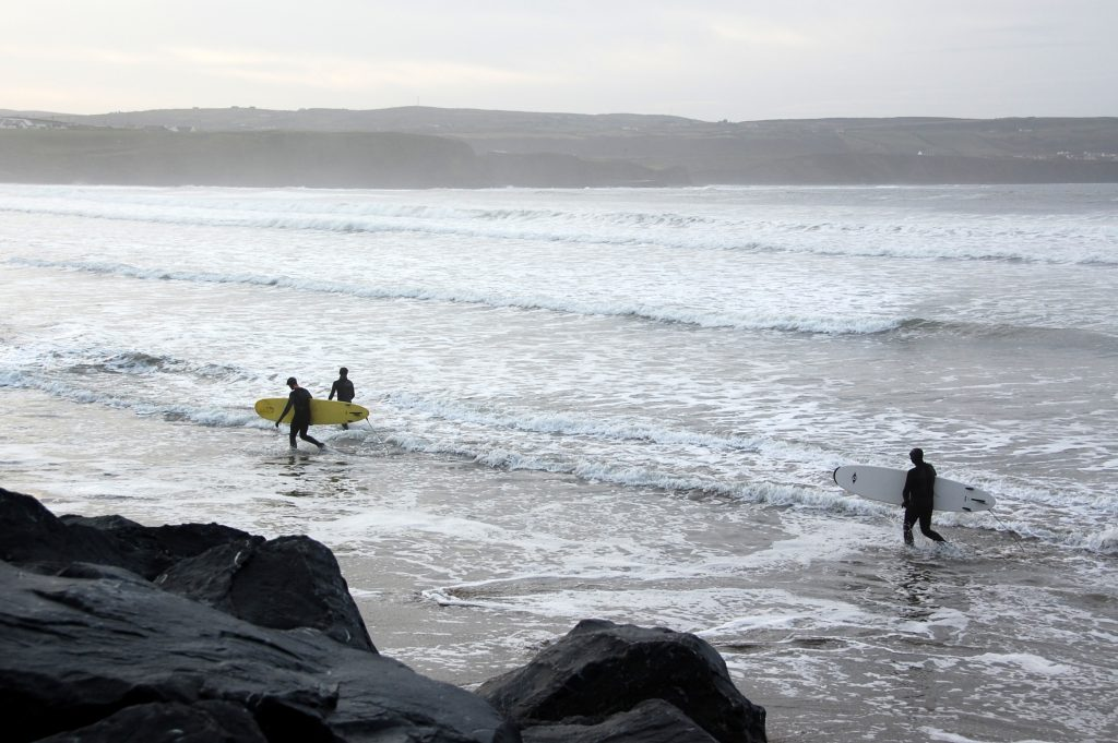 English and Surf programme in Ireland width=