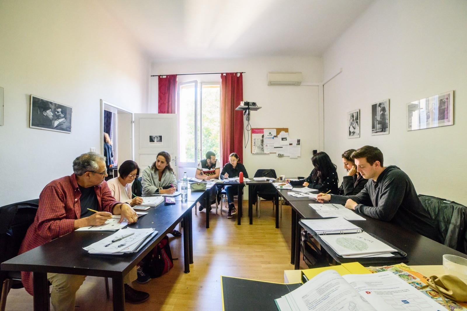 Alce Luzzara Reggio Emilia learn italian in italy with alce bologna and gama study