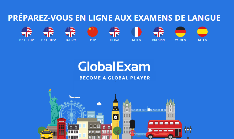 Global Exam - Platforme de préparation aux examens de langue