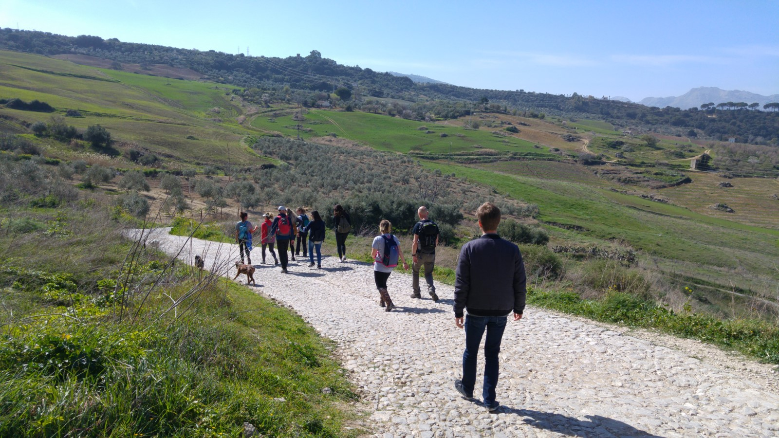 Hiking in Ronda in Andalusia with Entrelenguas, Spanish school in Spain